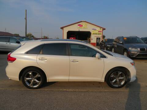 2010 Toyota Venza for sale at Jefferson St Motors in Waterloo IA