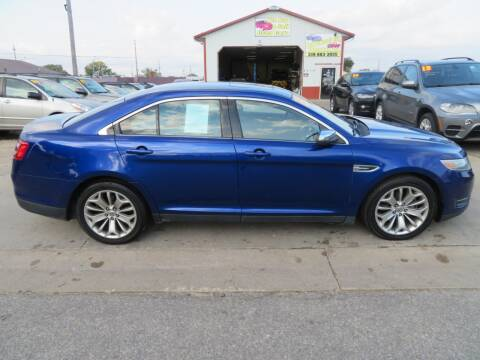 2013 Ford Taurus for sale at Jefferson St Motors in Waterloo IA