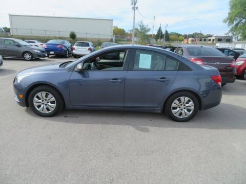 2013 Chevrolet Cruze for sale at Jefferson St Motors in Waterloo IA
