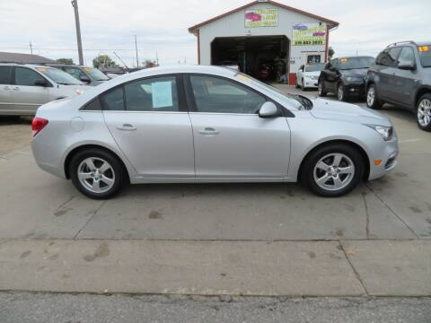 2015 Chevrolet Cruze for sale at Jefferson St Motors in Waterloo IA