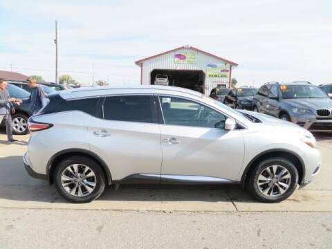 2015 Nissan Murano for sale at Jefferson St Motors in Waterloo IA