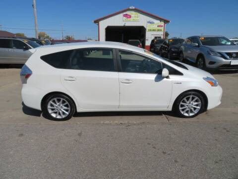 2012 Toyota Prius v for sale at Jefferson St Motors in Waterloo IA