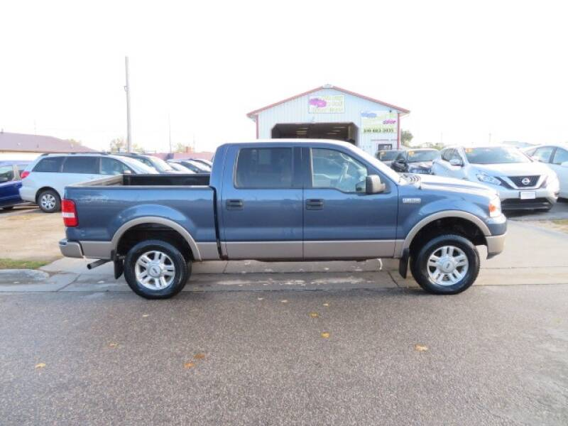 2004 Ford F-150 for sale at Jefferson St Motors in Waterloo IA