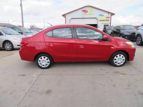 2017 Mitsubishi Mirage G4 for sale at Jefferson St Motors in Waterloo IA