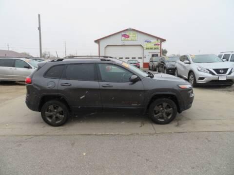 2016 Jeep Cherokee for sale at Jefferson St Motors in Waterloo IA