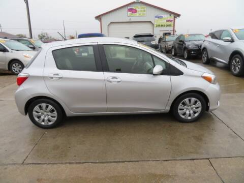 2013 Toyota Yaris for sale at Jefferson St Motors in Waterloo IA