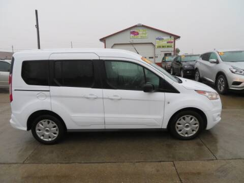 2016 Ford Transit Connect Wagon for sale at Jefferson St Motors in Waterloo IA