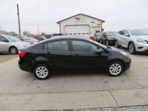 2014 Kia Rio for sale at Jefferson St Motors in Waterloo IA