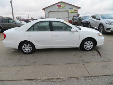 2002 Toyota Camry for sale at Jefferson St Motors in Waterloo IA