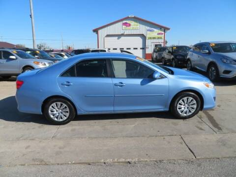 2012 Toyota Camry for sale at Jefferson St Motors in Waterloo IA