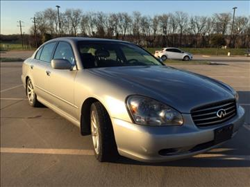 2002 Infiniti Q45 for sale in Dallas, TX