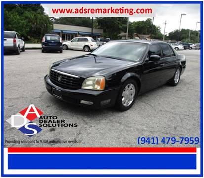 2002 Cadillac DeVille for sale in Palmetto, FL