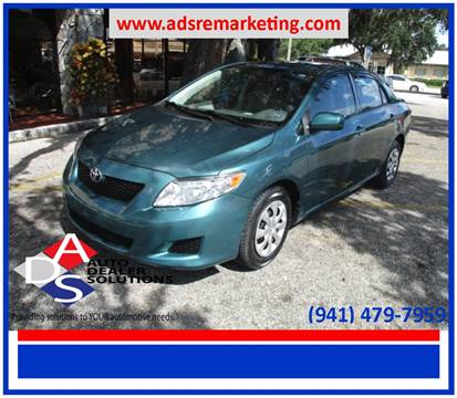 2010 Toyota Corolla for sale in Palmetto, FL