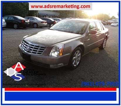 2007 Cadillac DTS for sale in Palmetto, FL