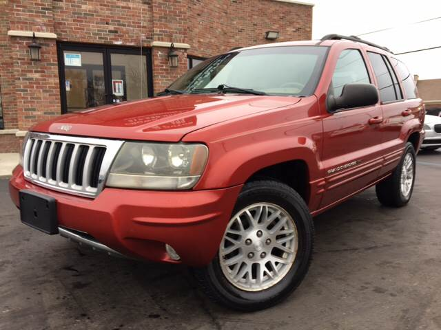 2004 Jeep Grand Cherokee For Sale At Crown Autos In Indianapolis IN