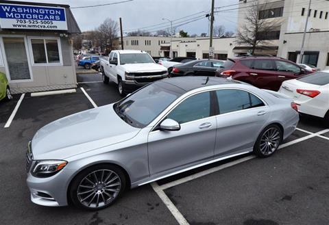 2015 Mercedes-Benz S-Class for sale in Arlington VA