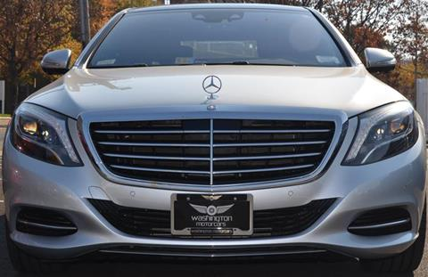 2014 Mercedes-Benz S-Class for sale in Arlington, VA