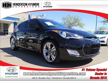 2016 Hyundai Veloster for sale in Henderson, NV