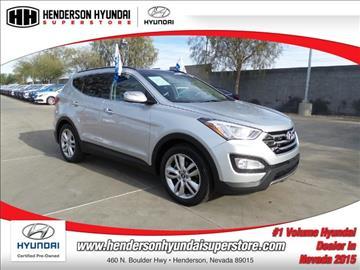2015 Hyundai Santa Fe Sport for sale in Henderson, NV