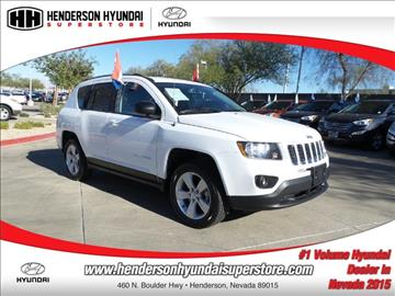 2016 Jeep Compass for sale in Henderson, NV