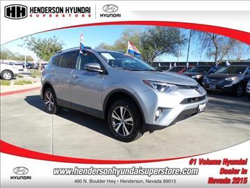 2016 Toyota RAV4 for sale in Henderson, NV