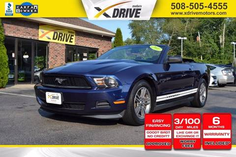 2011 Ford Mustang for sale in West Bridgewater, MA