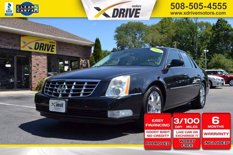 2008 Cadillac DTS for sale in West Bridgewater, MA