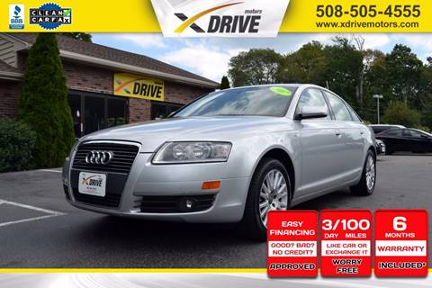 2007 Audi A6 for sale in West Bridgewater, MA