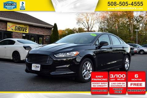 2013 Ford Fusion for sale in West Bridgewater, MA