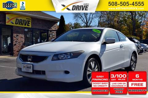 2008 Honda Accord for sale in West Bridgewater, MA