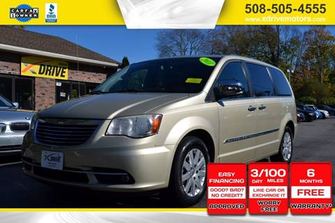 2011 Chrysler Town and Country for sale in West Bridgewater, MA