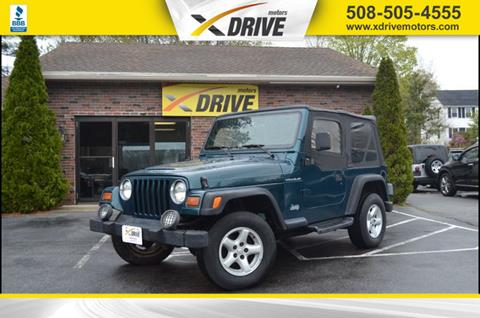 1997 Jeep Wrangler for sale in West Bridgewater, MA