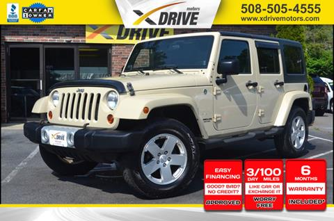 2011 Jeep Wrangler Unlimited for sale in West Bridgewater, MA