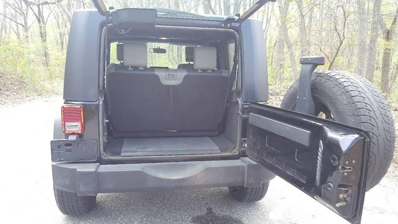 2007 Jeep Wrangler 4x4 X 2dr SUV - Norwich CT