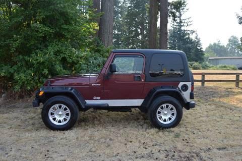 2003 Jeep Wrangler for sale in Enumclaw, WA
