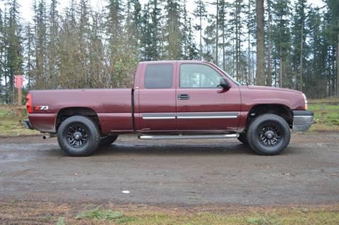 2003 Chevrolet Silverado 1500 for sale in Enumclaw, WA