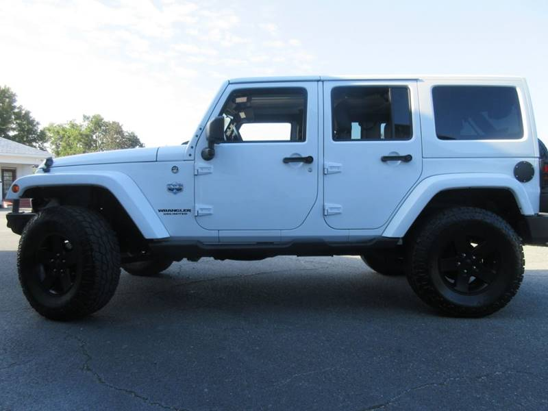 2012 Jeep Wrangler Unlimited 4x4 Arctic 4dr Suv In