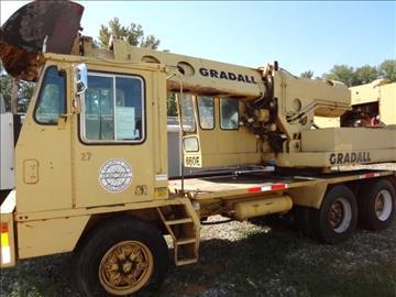 1989 Gradall G660E