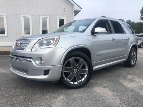 2012 GMC Acadia for sale at Beckham's Used Cars in Milledgeville GA