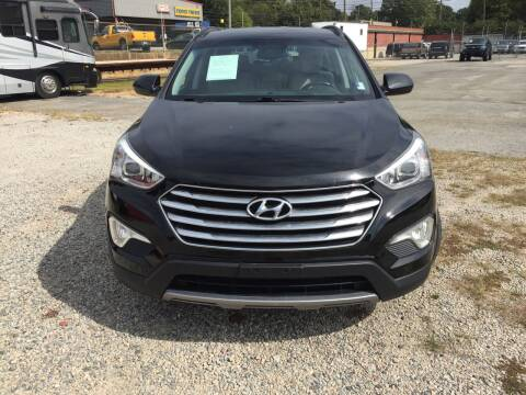 2014 Hyundai Santa Fe for sale at Beckham's Used Cars in Milledgeville GA