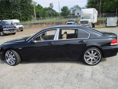 2002 BMW 7 Series for sale at Beckham's Used Cars in Milledgeville GA