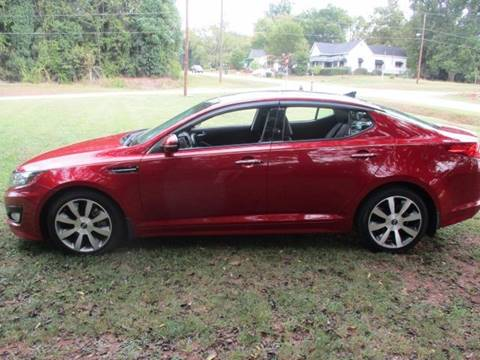 2012 Kia Optima for sale at Beckham's Used Cars in Milledgeville GA