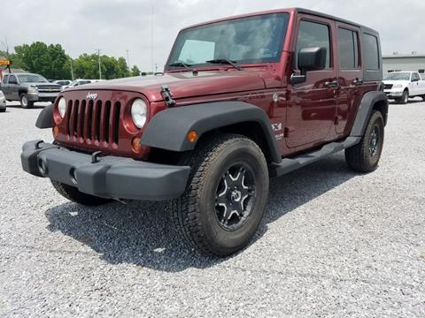 2008 Jeep Wrangler Unlimited for sale in Harrisburg, IL