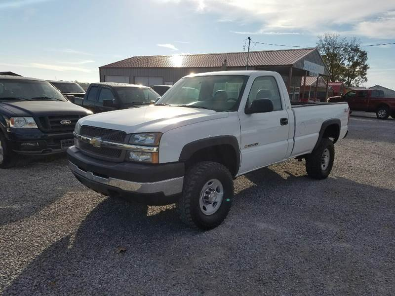 2004 chevrolet silverado 2500hd 2dr regular cab work truck 4wd lb in harrisburg il city limit. Black Bedroom Furniture Sets. Home Design Ideas