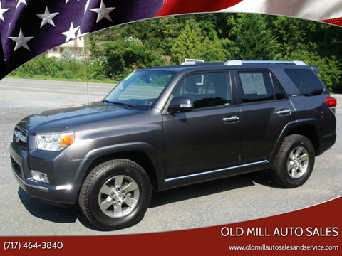 Toyota Lancaster Pa >> 2010 Toyota 4runner For Sale In Lancaster Pa
