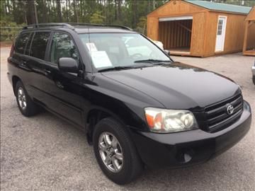 2007 Toyota Highlander for sale in Gaston, SC