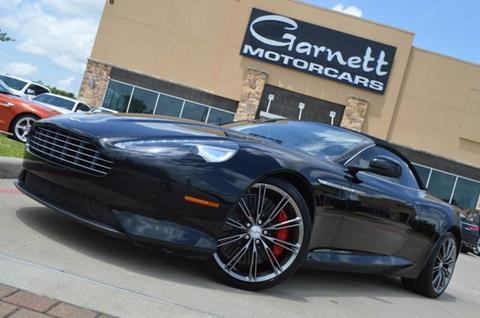 2012 Aston Martin Virage for sale in Houston, TX