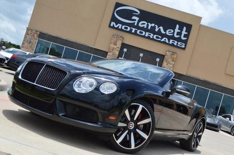 2014 Bentley Continental GTC V8 for sale in Houston, TX