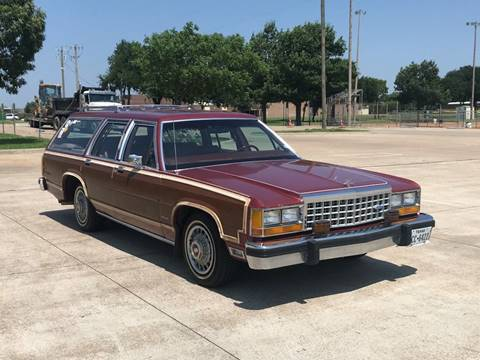 1984 Ford LTD Crown Victoria for sale in Rowlett, TX