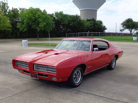 1969 Pontiac GTO for sale in Rowlett, TX